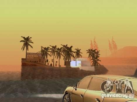 Новый остров v1.0 для GTA San Andreas девятый скриншот