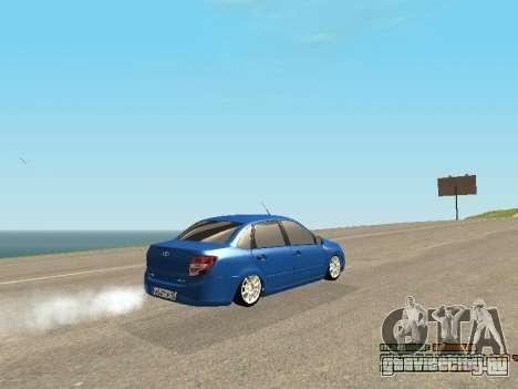 ВАЗ 2190 для GTA San Andreas вид снизу