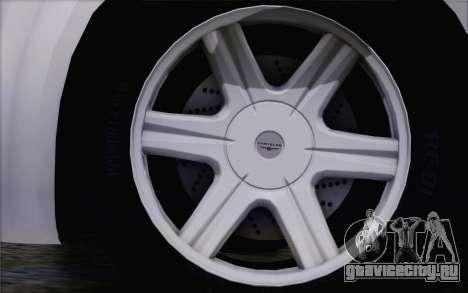 Chrysler 300C 2009 для GTA San Andreas вид справа