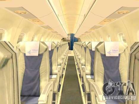 Embraer 175 HOUSE для GTA San Andreas салон