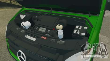 Mercedes-Benz Sprinter 2500 2011 Hungarian Post для GTA 4 вид сзади