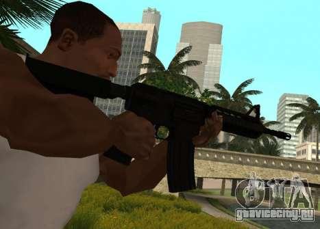 M4 CQB для GTA San Andreas второй скриншот