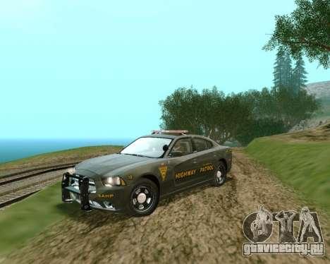 Dodge Charger 2012 SAHP для GTA San Andreas