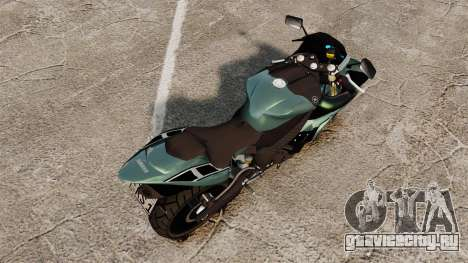 Yamaha R1 RN12 [Update] для GTA 4 вид сзади слева