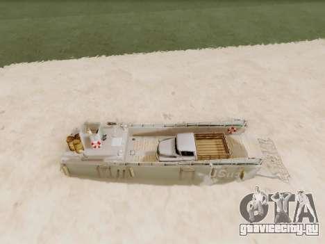 Landing Craft для GTA San Andreas вид сбоку