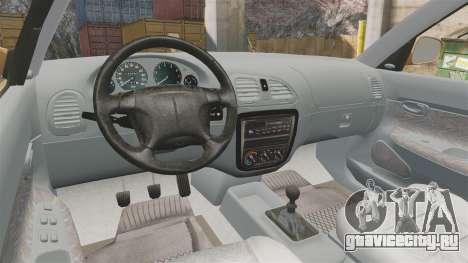 Daewoo Nubira I Wagon CDX PL 1998 для GTA 4 вид сзади