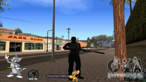 C-HUD Tom and Jerry для GTA San Andreas второй скриншот