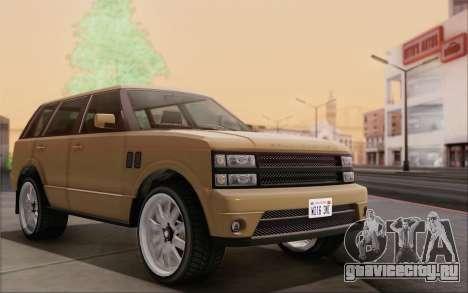 Gallivanter Baller из GTA V для GTA San Andreas вид сзади слева