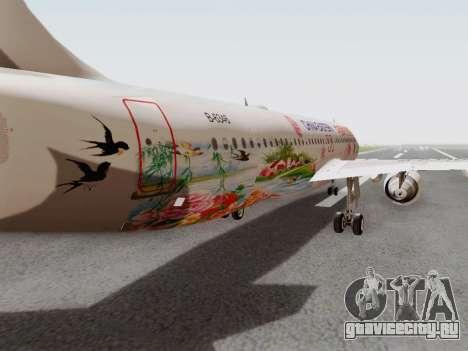 Airbus A320-211 China Eastern для GTA San Andreas вид изнутри