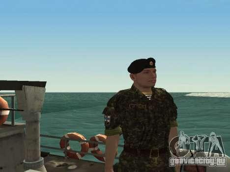 Морская Пехота ВС Украины для GTA San Andreas третий скриншот