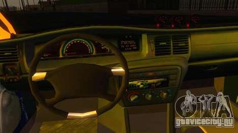 Opel Vectra B TUNING для GTA San Andreas вид сзади