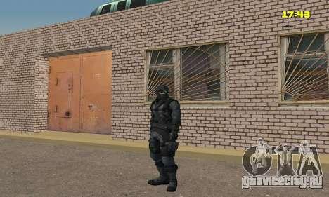 Арчер из игры Splinter Cell Conviction для GTA San Andreas четвёртый скриншот