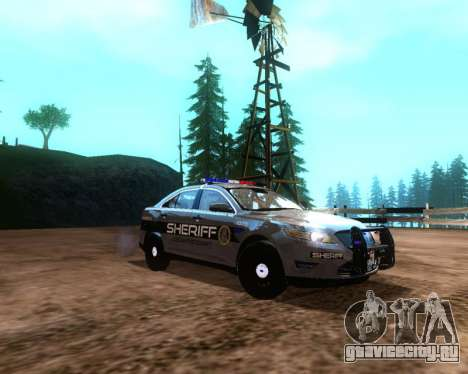 Ford Interceptor Los Santos County Sheriff для GTA San Andreas