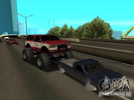 Street Monster для GTA San Andreas вид сверху