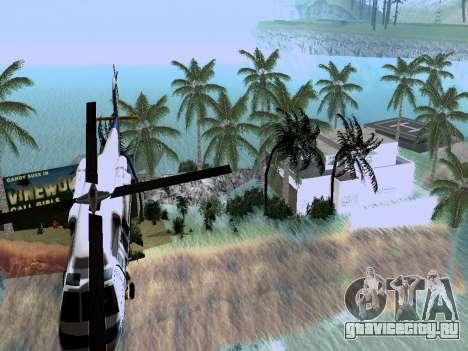 Новый остров v1.0 для GTA San Andreas третий скриншот