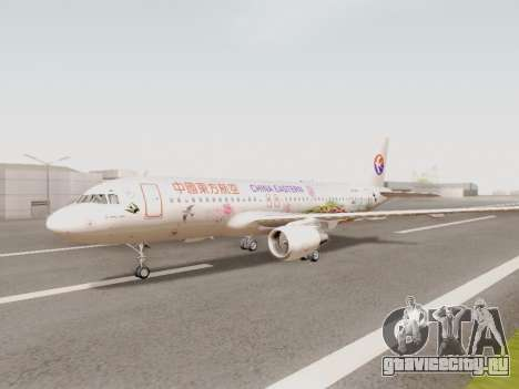 Airbus A320-211 China Eastern для GTA San Andreas