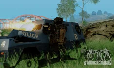 Kopassus Skin 3 для GTA San Andreas третий скриншот