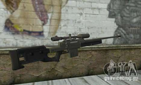 GTA V Sniper rifle для GTA San Andreas второй скриншот