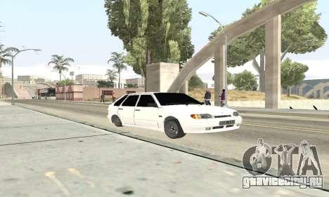 ВАЗ 2114 Avtosh для GTA San Andreas вид слева