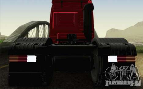 Mercedes-Benz Actros для GTA San Andreas вид сбоку