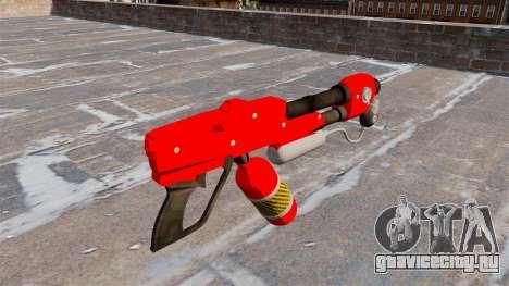 Огнемёт MX-295 для GTA 4 второй скриншот