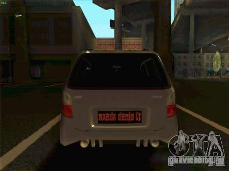 Mazda Demio 1998 для GTA San Andreas вид сзади слева