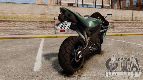 Yamaha R1 RN12 [Update] для GTA 4 вид справа