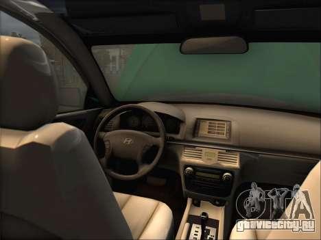 Hyundai Sonata 2009 для GTA San Andreas вид слева