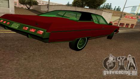 Chevrolet Caprice Coupe 1973 для GTA San Andreas вид справа