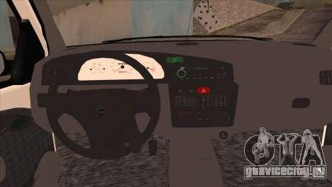 Fiat Palio BKModifiye для GTA San Andreas вид справа