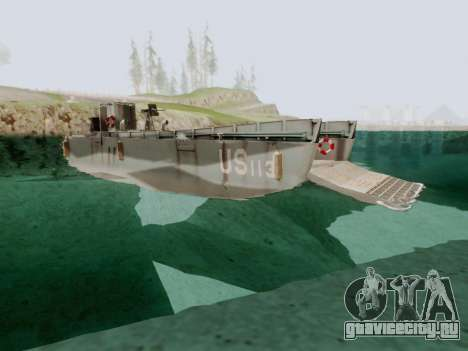 Landing Craft для GTA San Andreas вид справа