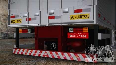 Mercedes-Benz 1313 для GTA San Andreas вид сзади слева