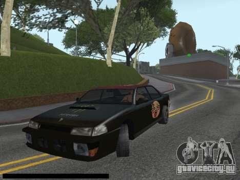 Винилы для Sultan для GTA San Andreas