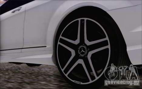 Mercedes-Benz CL65 AMG для GTA San Andreas вид справа