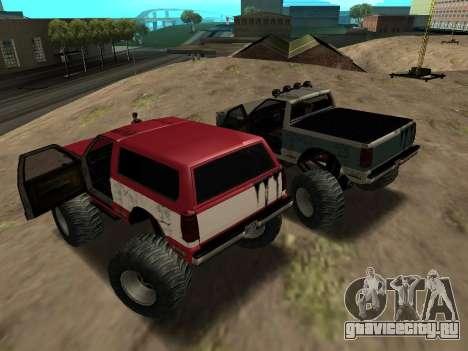 Street Monster для GTA San Andreas вид справа