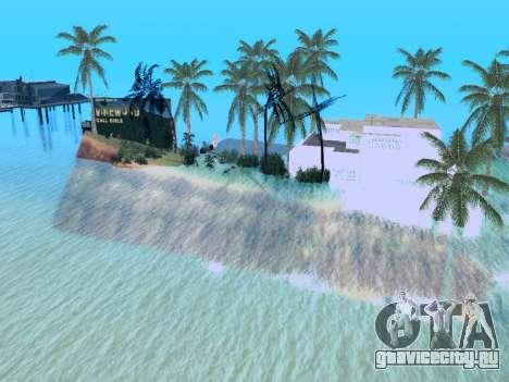Новый остров v1.0 для GTA San Andreas восьмой скриншот