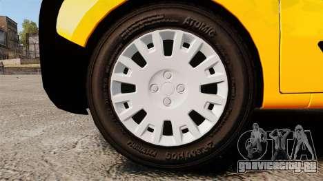 Peugeot Bipper LP EXPRESS [ELS] для GTA 4 вид сзади