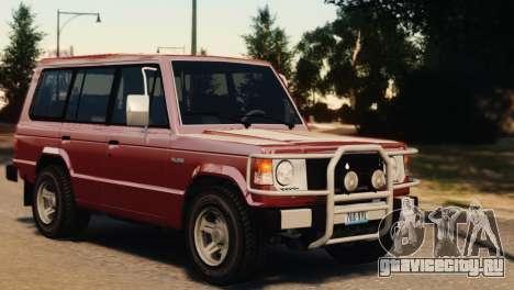 Mitsubishi Pajero I WAGON для GTA 4