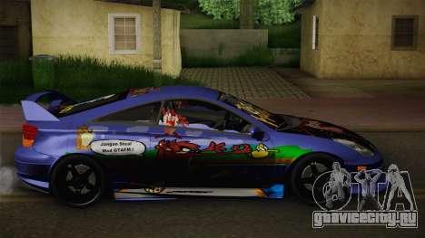 Toyota Celica Taz Mania Street Edition для GTA San Andreas вид слева