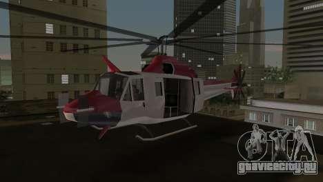 Bell HH-1D для GTA Vice City вид слева