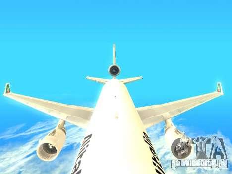 McDonnell Douglas MD-11 Alitalia для GTA San Andreas вид сбоку
