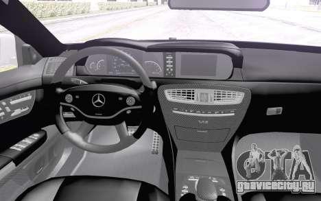 Mercedes-Benz CL65 AMG для GTA San Andreas вид сзади