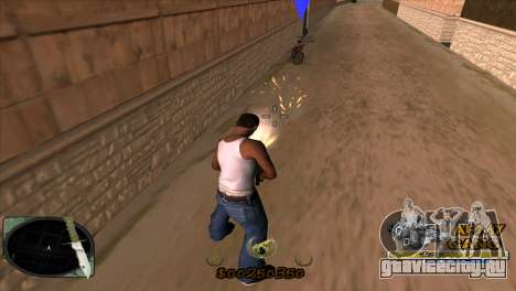 C-HUD Army Gang для GTA San Andreas третий скриншот