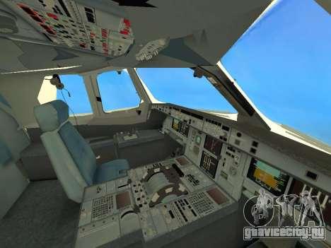 A380-800 Hainan Airlines для GTA San Andreas вид сбоку