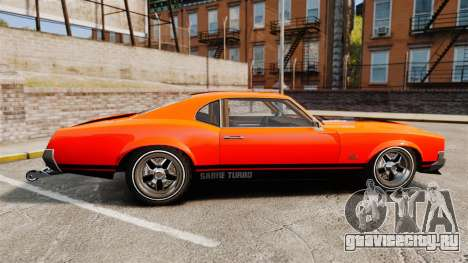 Declasse SabreGT new wheels для GTA 4 вид слева