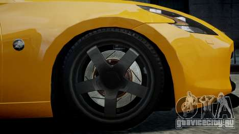 Nissan 370Z 2009 для GTA 4 вид справа