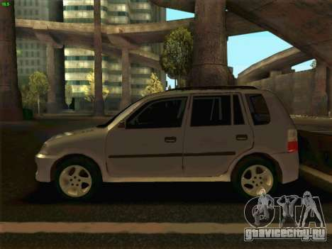 Mazda Demio 1998 для GTA San Andreas вид слева