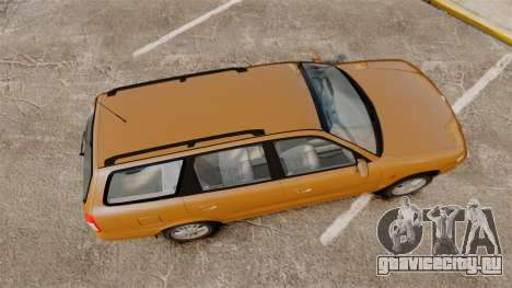 Daewoo Nubira I Wagon CDX PL 1998 для GTA 4 вид справа