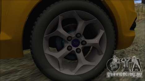 Ford Focus 2008 Station Wagon-Stock для GTA San Andreas вид сзади слева