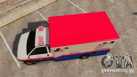 Brute MRSA Paramedic для GTA 4 вид справа
